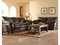 klaussner heights stationary living room group novello home