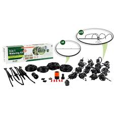How Do Self Watering Planters Work Dig Patio Drip Irrigation Kit Fm01as The Home Depot