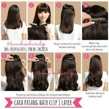 harga hair clip curly jual hair clip human hair jakarta indian remy hair