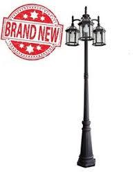 outdoor light pole mount portfolio outdoor l post pole mount light lighting fixture 3