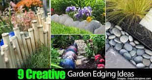 Creative Landscaping Ideas 9 Creative Garden Edging Ideas