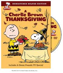 peanuts happy thanksgiving amazon com a charlie brown thanksgiving remastered deluxe