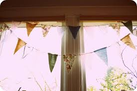 Pretty Bunting Flags Vintage Fabric Bunting Banner Diy Raynebo Net