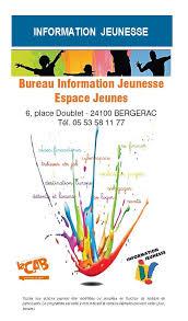 bureau information jeunesse bureau information jeunesse communauté d agglomération bergeracoise
