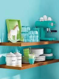 Blue Kitchen Decor Ideas Kitchen Decor Vintage White Turquoise Apple Green Shelf Decor