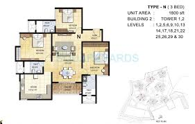 1800 sq ft 3 bhk 1800 sq ft apartment for sale in prestige falcon city at