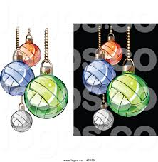 christmas volleyball clipart 14