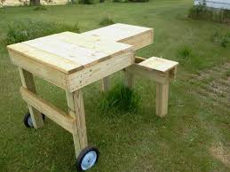 Plans For A Wooden Bench by Best 25 Shooting Bench Plans Ideas On Pinterest Shooting Table