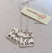 name charm necklace name charm necklace by isabelle grace jewelry