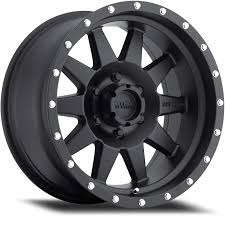 the standard matte black off road wheel method race wheels
