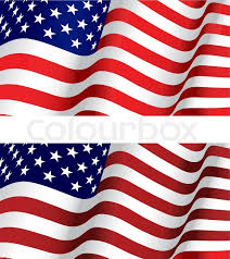 flag of usa for design as a background or texture stock vector