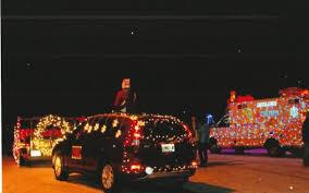 christmas light parade floats limestone parade lights up the holiday season the county