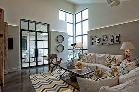 Zig Zag Room Divider Fair Picture Of Modern White Yellow And Grey Living Room
