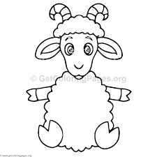 sheep coloring pages u2013 getcoloringpages org