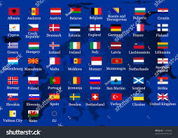 Conutry Flags European Country Flags Stock Vector 11743090 Shutterstock