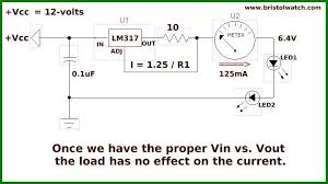 http www current design lm317 constant current source circuits