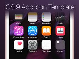 ios 9 app icon template psd by max rudberg dribbble