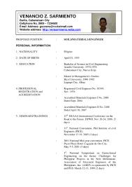 cv format for civil engineers pdf reader resume sle of civil engineer sle resume format for civil