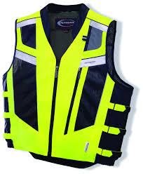 safest motorcycle jacket olympia blaze hi viz vest revzilla