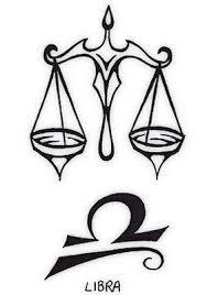 tattoos designs with zodiac especially libra tribal design