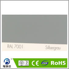 high glossy sanded texture grey color for metal surface in acrylic