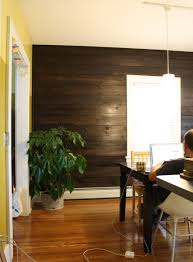 Laminate Flooring For Walls Installing Shiplap In Our Dining Room Merrypad