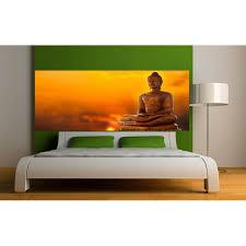 chambre bouddha stickers tête de lit déco chambre bouddha stickers muraux deco