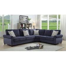 Sectional Leather Sleeper Sofa Sleeper Sectional Sofas You Ll Wayfair