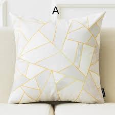 Decorative Pillows Modern Modern Nordic Geometric Decorative Throw Pillows Minimalist Sofa