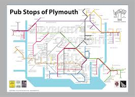 Plymouth England Map by Plymouth