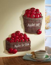 decorating ideas kitchen walls apple decorations for the kitchen 11963