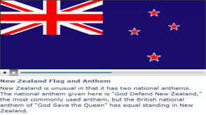 Nee Zealand Flag New Zealand Flag And Anthem Youtube