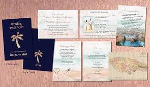 destination wedding invitation gold passport style destination wedding invitations travel