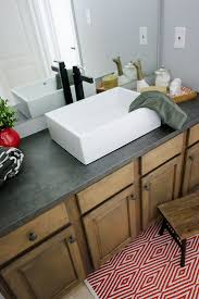 Formica Bathroom Vanity Tops by Best 10 Countertop Makeover Ideas On Pinterest Cheap Granite