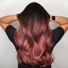 rose gold hair color 11 stunning rose gold hair color ideas highlights all over color