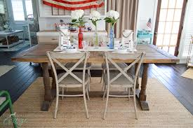 Fourth Of July Table Decoration Ideas Simple 4th Of July Table Decorating Ideas Fox Hollow Cottage