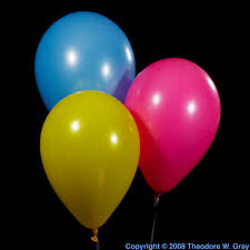 classic helium balloons a sample of the element helium in the