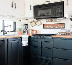 is chalk paint recommended for kitchen cabinets how to paint your rv kitchen cabinets mountainmodernlife