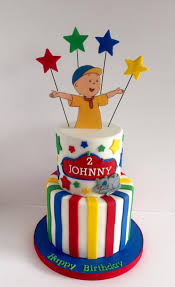 caillou cake topper caillou cake cakecentral