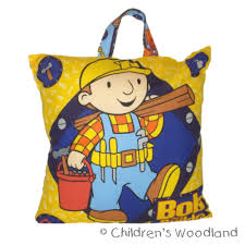 personalized gift bob builder pillow customized kids