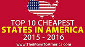 Cheapest States To Live In Cheapest States To Live In Most Expensive States To Live In