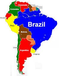 America Continent Map by Political Map Of South America Ezilon Maps South America
