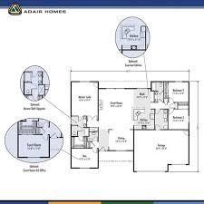 adair home plans stylish idea 4 floor plans adair homes past the josephine homepeek