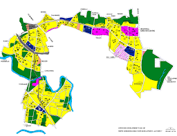 Pune India Map by Pimpri Chinchwad New Town Development Authority