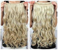 sallys hair extensions 50 colors 130g 20inch 50cm synthetic clip in hair extensions