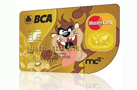 bca gold card apply kartu kredit bca mastercard mc2 tazmania limit fitur