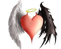 the 25 best angel devil tattoo ideas on pinterest angel demon