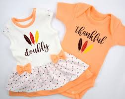 Thanksgiving Dress Baby Baby Thanksgiving Doubly