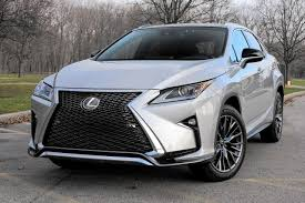 lexus midsize suv 2015 2016 lexus rx 350 f sport cuts distinctive line in crossover class