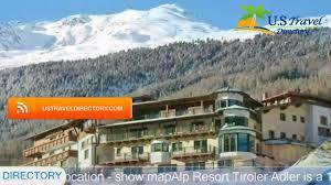 alp resort tiroler adler sölden hotels austria youtube